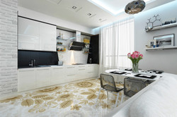 дизайн интерьера кухни лайт