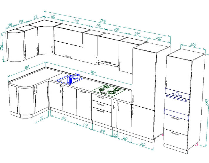 кухонный гарнитур фото Чебоксары