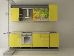 фотопечать на кухонном гарнитуре