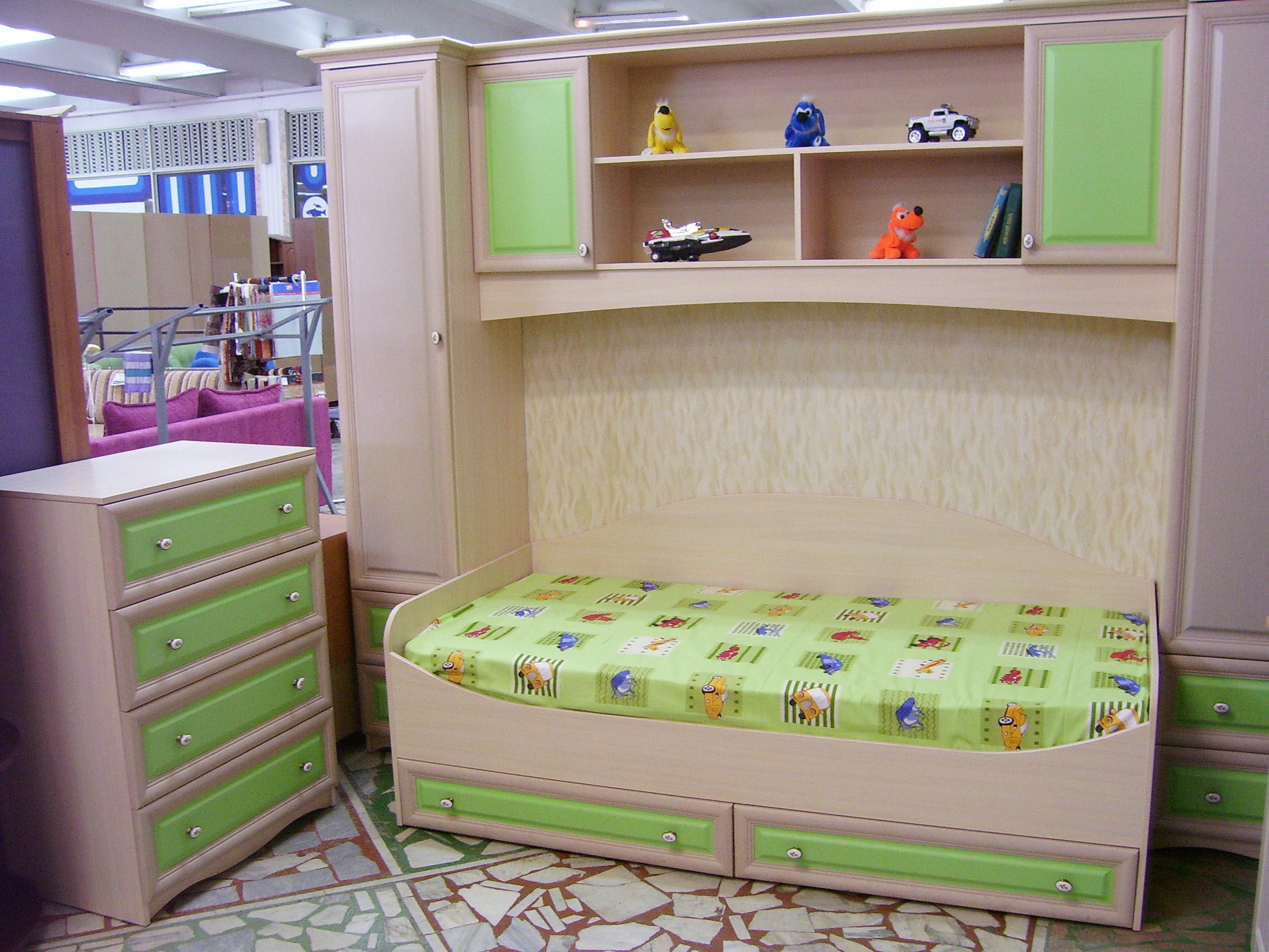 Поблочная система детской мебели