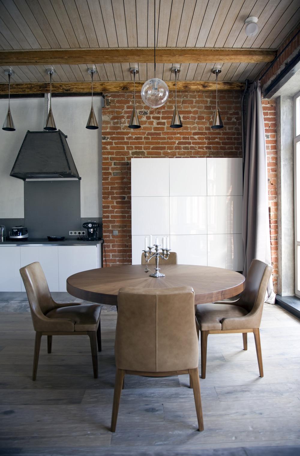 белый кухонный гарнитур модерн