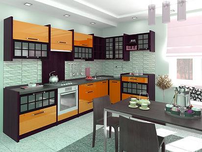 современная кухня в восточном стиле