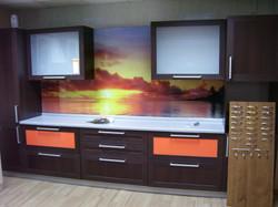 фото кухни с фотопечатью