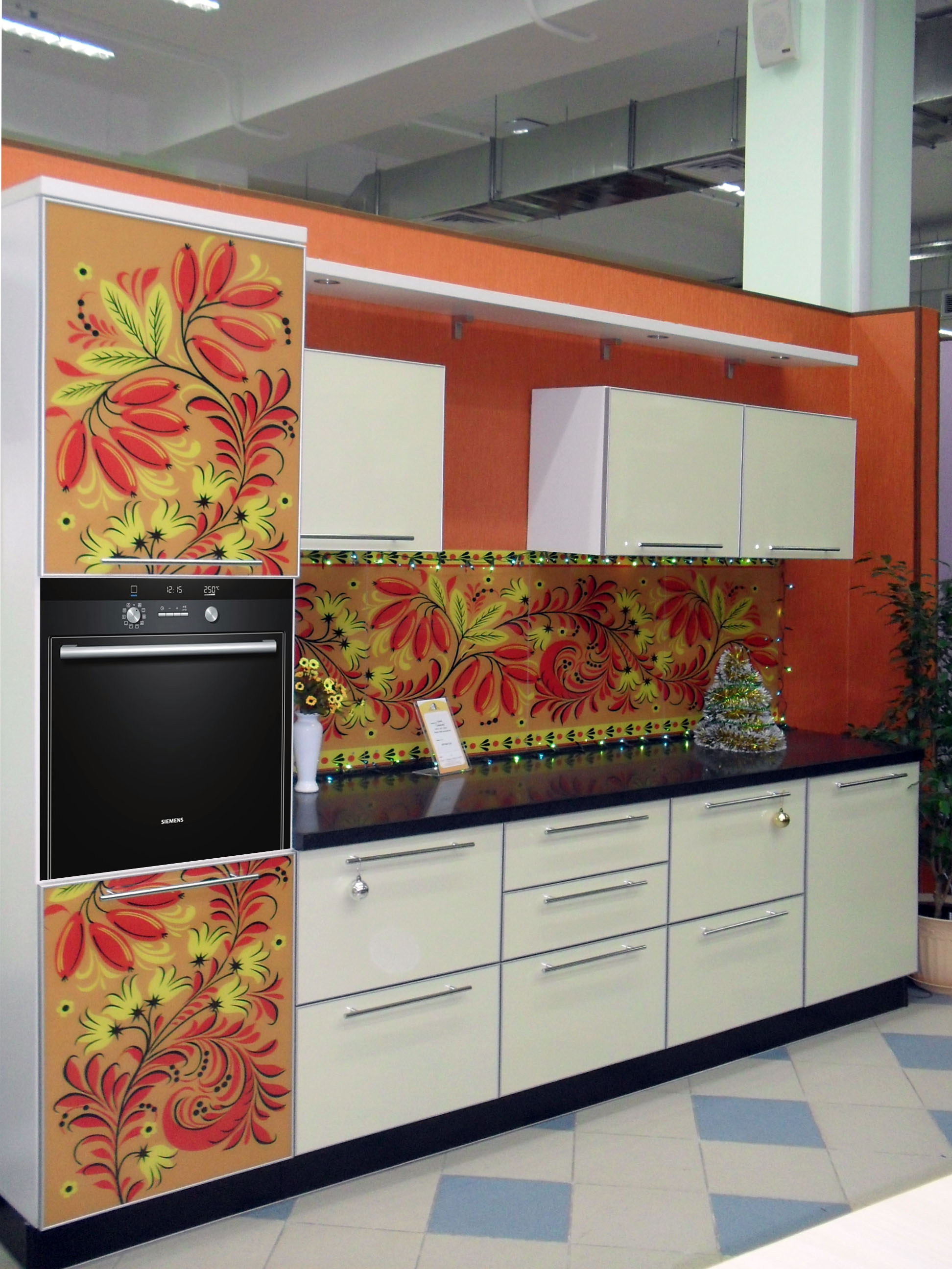 фото кухни Славянка