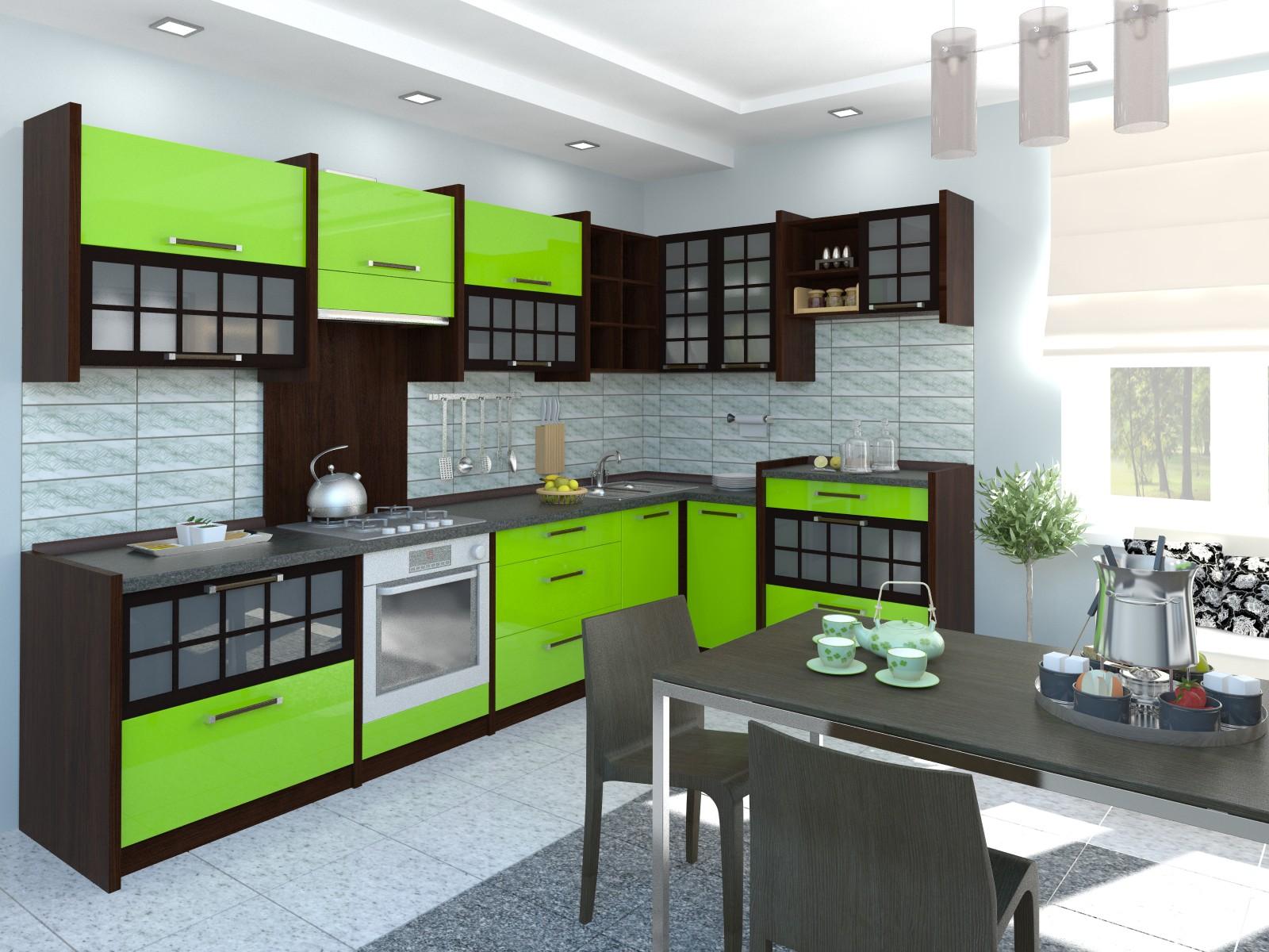 кухонный гарнитур в восточном стиле