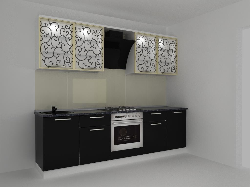 кухня черная жемчужина