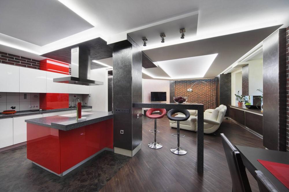 модная кухня красного цвета.jpg
