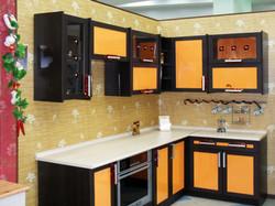 рамочная кухня в восточном стиле