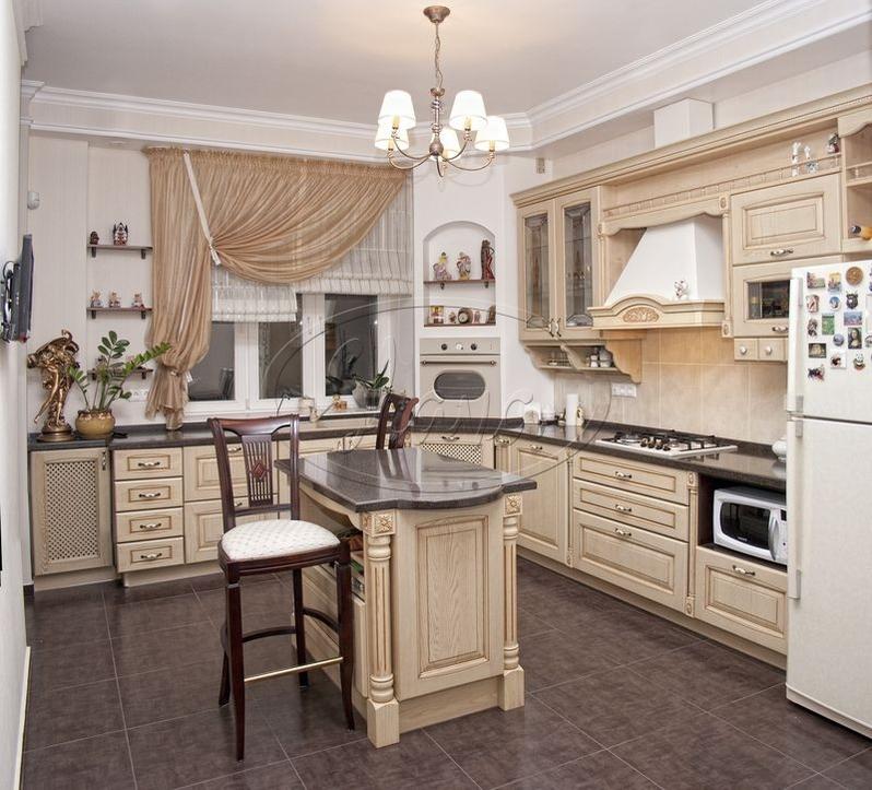кухня из массива дерева Чебоксары