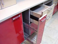 корзина карго на кухне