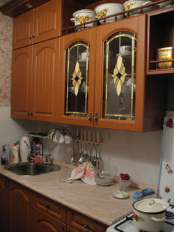 классическая кухня ольха