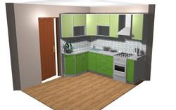 дизайн кухни  Ельниковский 11