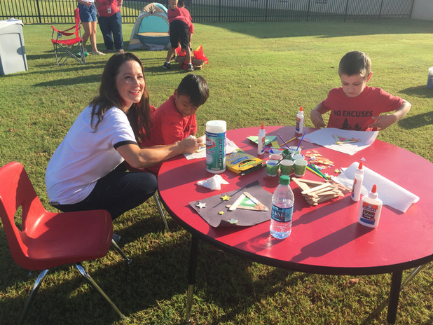STEAM Art Activity with staff member.JPG