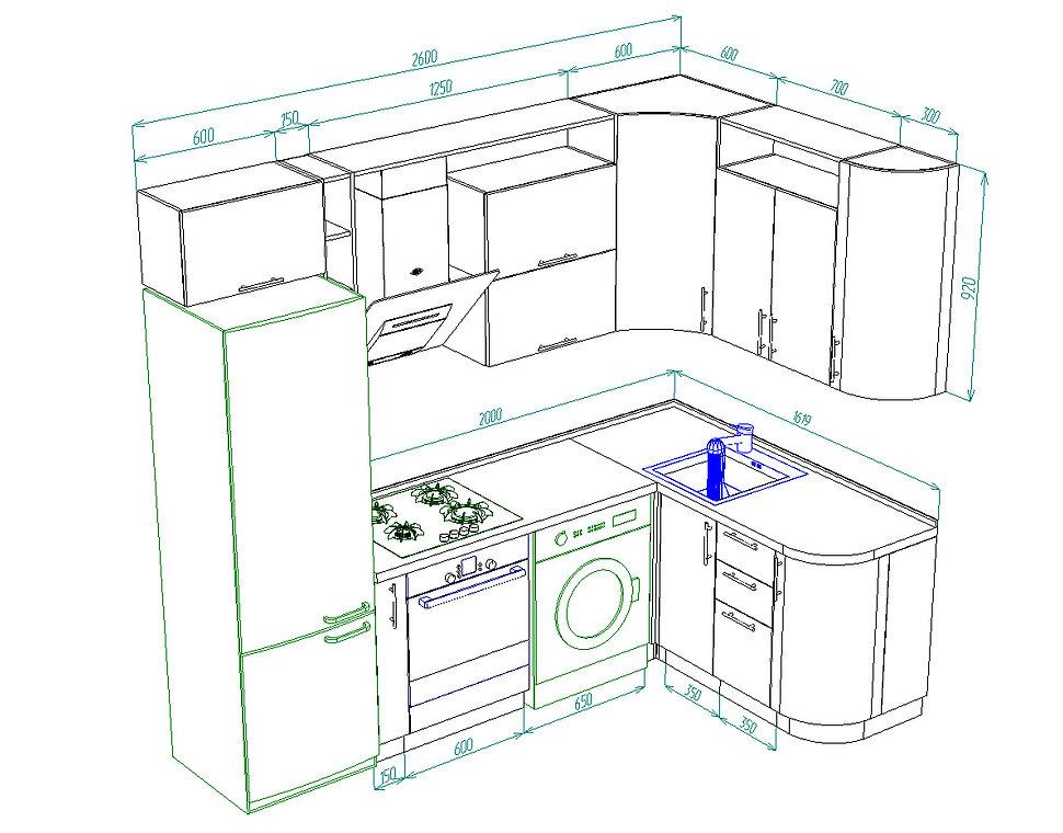 дизайн кухни Чебоксары