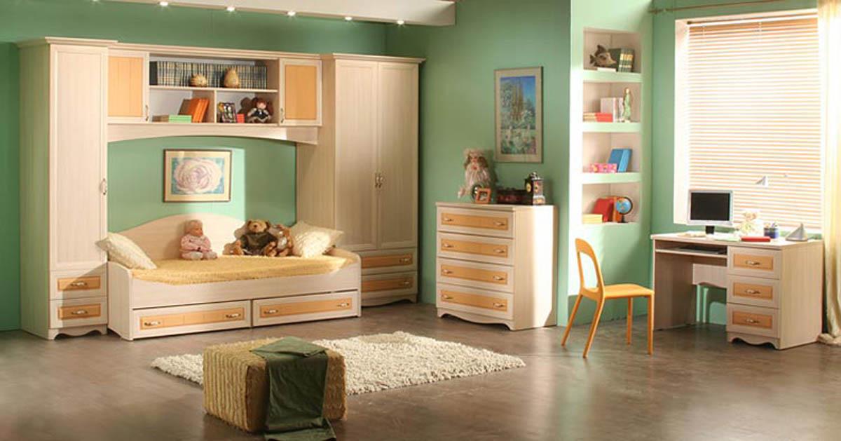 серия детской мебели Флора