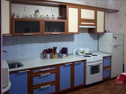 кухня из двух цветов