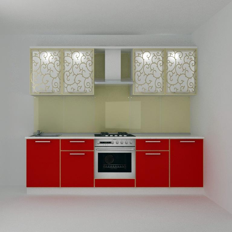 кухня красная  жемчужина