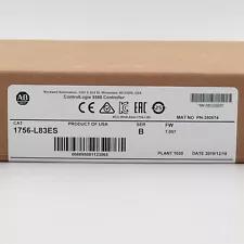 Allen Bradley 1756-L83ES ControlLogix 5580 Controller US Stock Factory Sealed