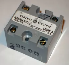General Electric GE FANUC IC3500A403C Rectifier 115VAC 25/50/60 Hz, NEMA 1-5