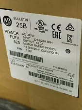 Allen-Bradley PowerFlex 525 22kW 30Hp AC Drive 25B-D043N114