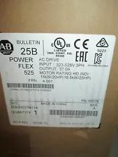 Allen Bradley PowerFlex 525 AC Drive 18.5kW 25Hp Series A 25B-D037N114