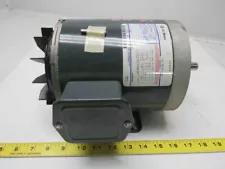 GE Fanuc 5K49MN6021 1/2HP 1140RPM 208-230/460V 3PH Electric Motor