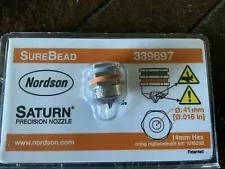 Nordson hot melt glue machine Single Bead nozzle 339697 0.41mm Straight New