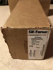GE FANUC GENUIS CURRENT SOURCE INPUT P/N IC660BBD022X