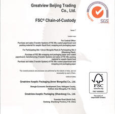 مواد من مصادر موثوقة FSC