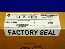 FACTORY SEALED Allen Bradley 1756-OF8H /A HART ControlLogix YEAR DATES VARY