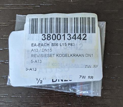 REVISIESET KOGELKRAAN DN15-A13