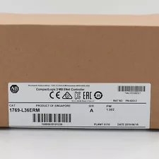 Allen-Bradley CompactLogix 3MB Motion Controller 1769-L36ERM New Factory Sealed