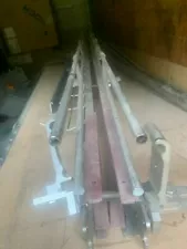 Stainless Steel Inline Conveyor 10FT PEICES NO Belt NEW TETRA PAK 10 pieces