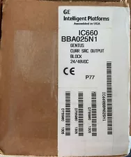 FANUC IC660BBA025 / IC660BBA025 (NEW IN SELAD BOX)