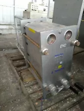 Alfa Laval TetraPak Stainless Sanitary plate heat exchanger. Model MS10.SM