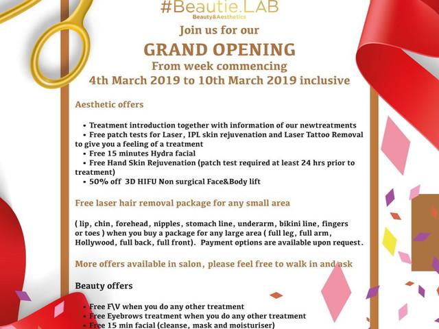 Invitation grand openning
