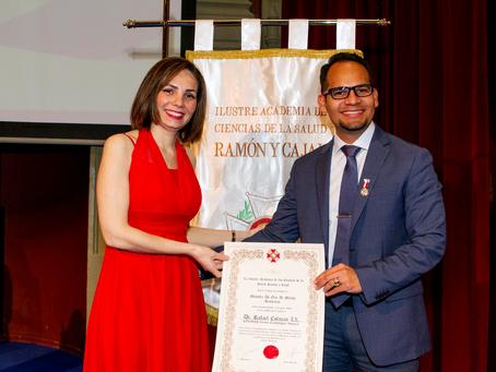 La Ilustre Academia de Ciencias de la Salud Ramón y Cajal impone las Medallas al Mérito Sanitario