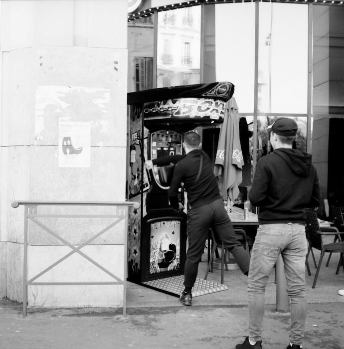 Rue d'Aix. Marseille