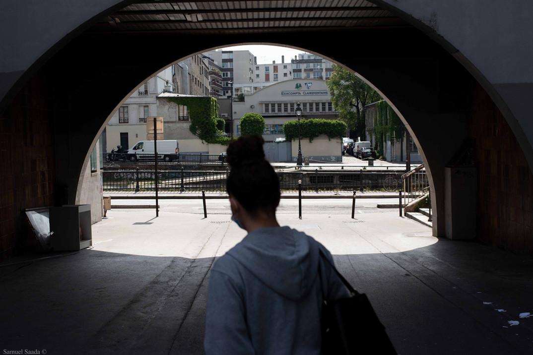 Paris. Quai Valmy