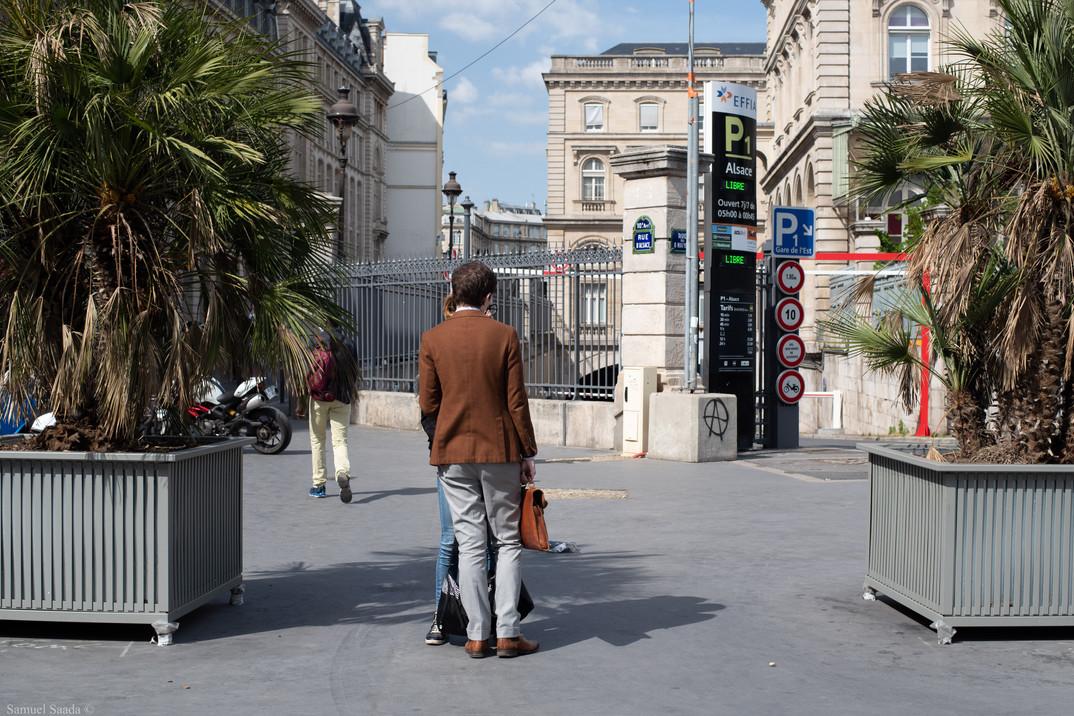 Paris. Gare de l'Est