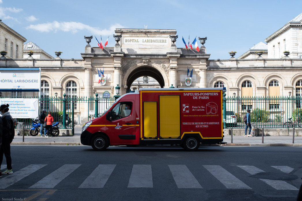 Paris. Hôpital Lariboisière