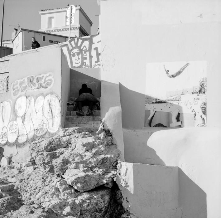 Corniche Kennedy. Marseille