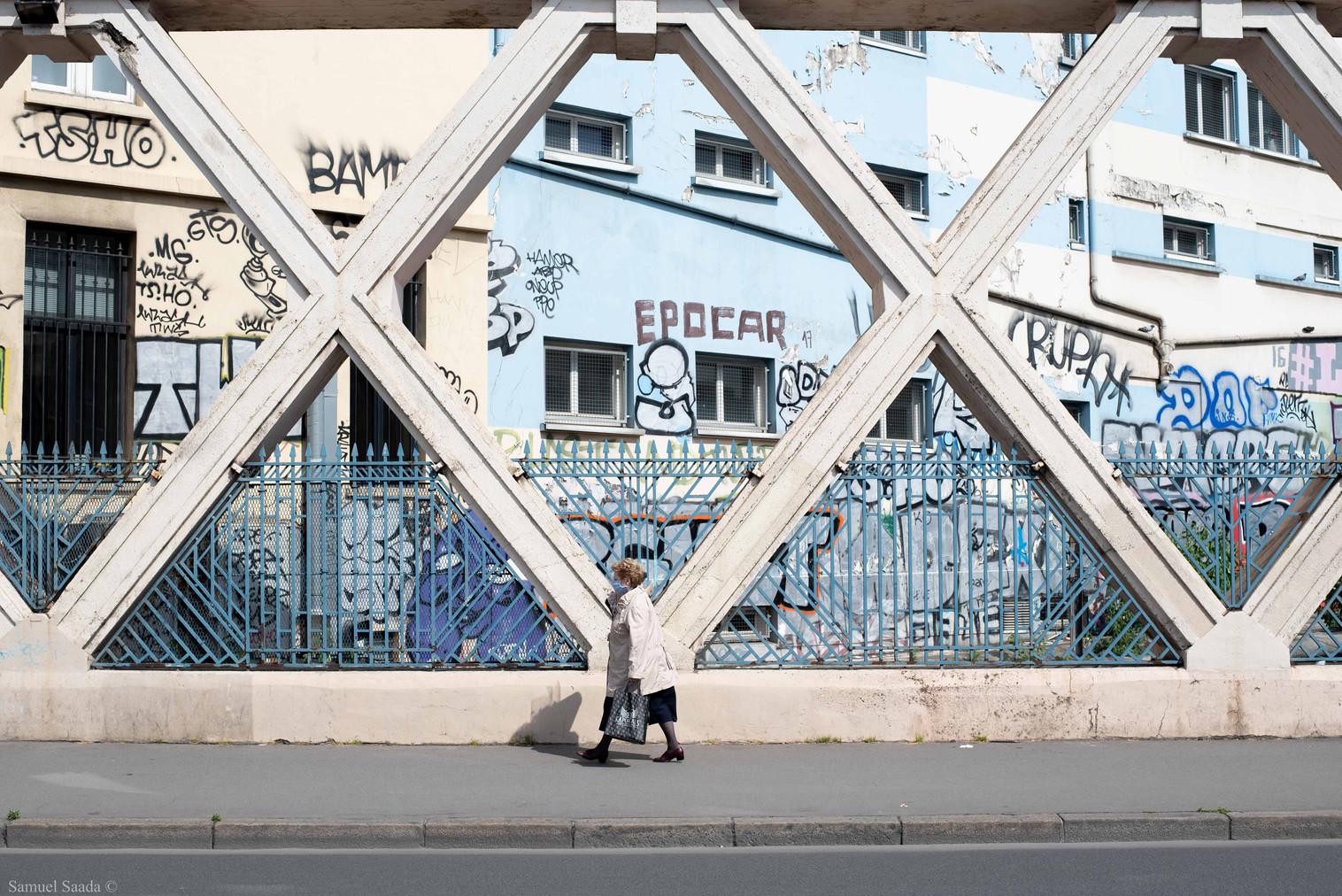 Paris. Rue La Fayette