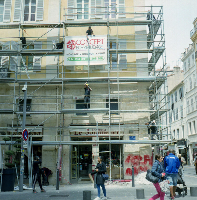 Rue de Rome. Marseille