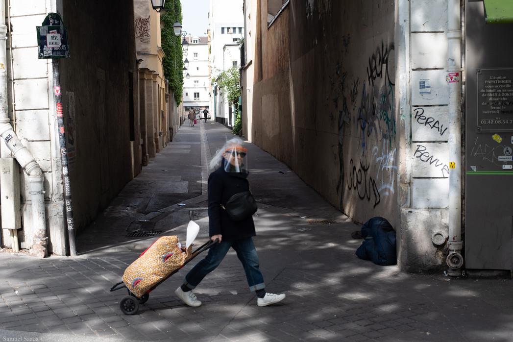 Paris. Boulevard de Magenta
