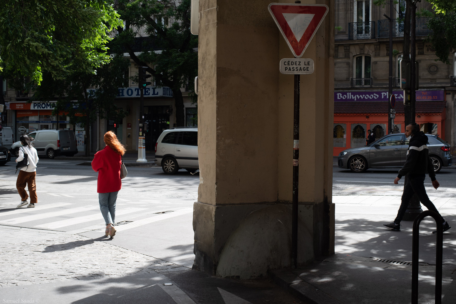 Paris. Boulevard Magenta