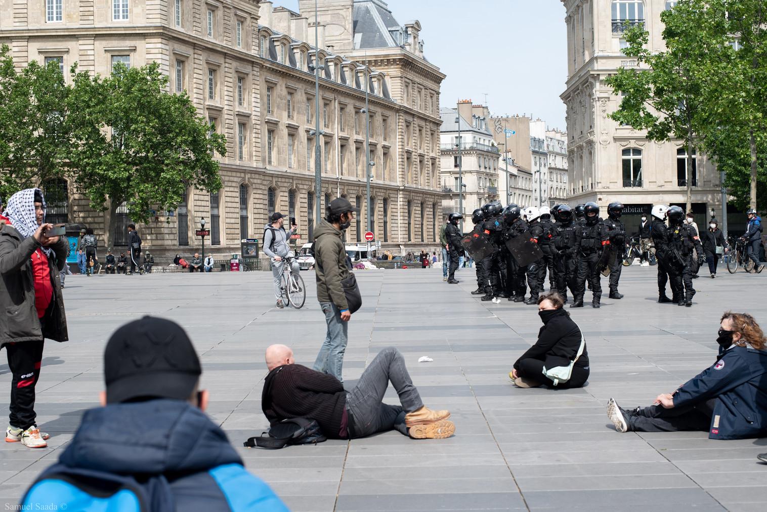 Paris. Place de la République