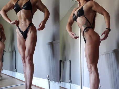 4 Weeks Out | First Figure Competition Prep (July 2019)