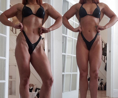 12 Weeks Out | First Figure Competition Prep (May 2019)