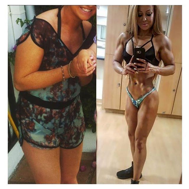 Lucy Anjuna Body Transformation